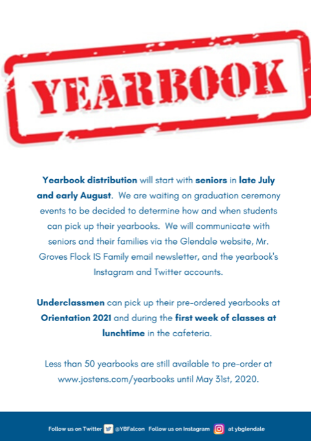 Yearbook Notice Distribution