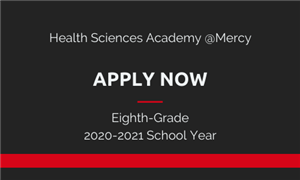 Health Sciences Academy @Mercy Apply Now