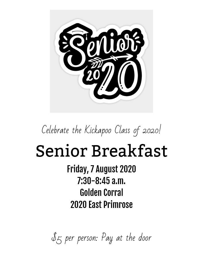 Senior Breakfast!