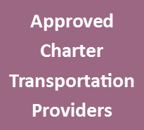 Approved Charter Transportation Providers