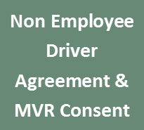 Non Employee Driver Agreement