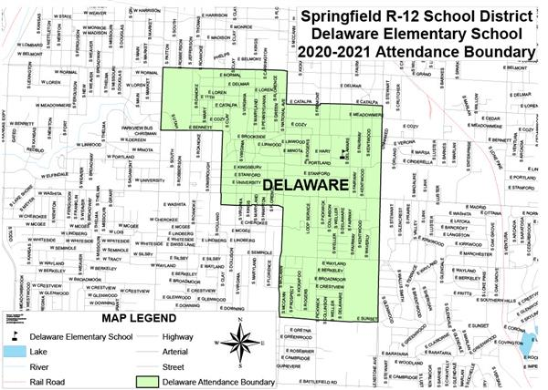 Delaware attendance boundary expands for 2020-2021 school year