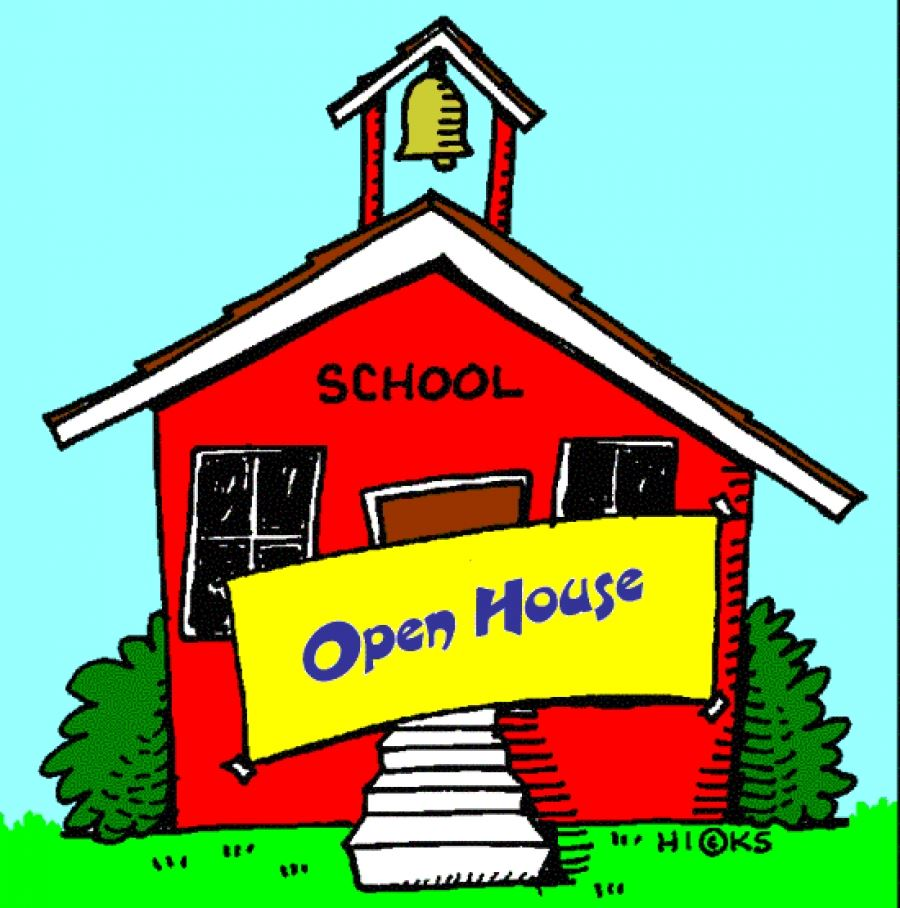 Open House, September 12 from 5:30 until 6:30