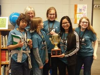 Middle schools students prepare for Battle of the Books