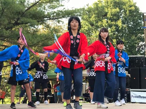 SPS students join community in celebrating Japanese Fall Festival