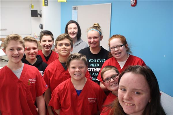 Health Sciences Academy students fight cancer with fundraiser
