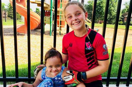 Hickory Hills sixth-grader raises over $2,000 with Soccer Saves for Down Syndrome