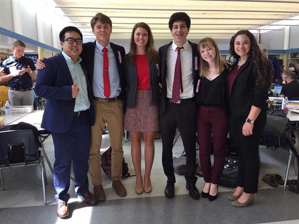 SPS debaters shine at national competition