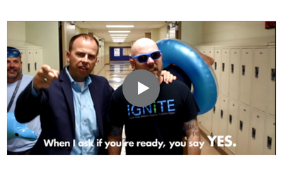 Music video gets students, staff hyped to head #BacktoSPS