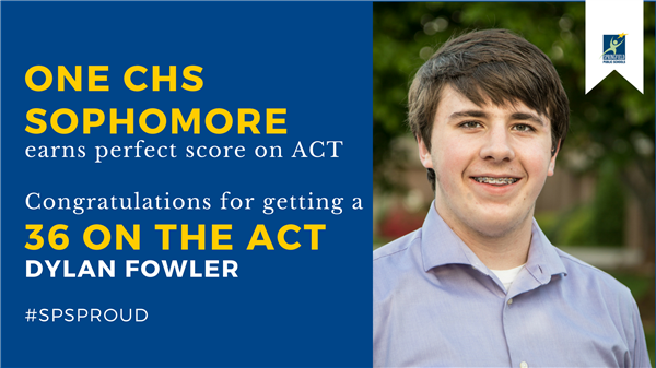 CHS sophomore gets a perfect score on ACT