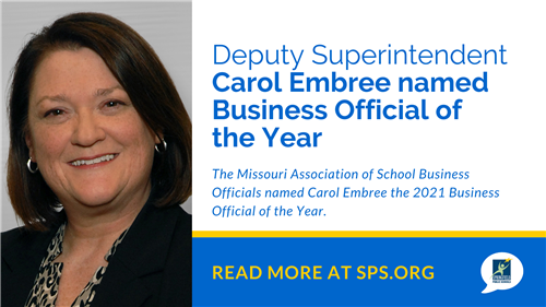 Deputy Superintendent Carol Embree named Business Official of the Year
