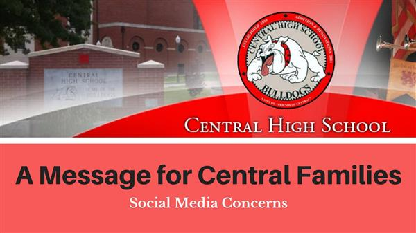 A message to Central High School Families