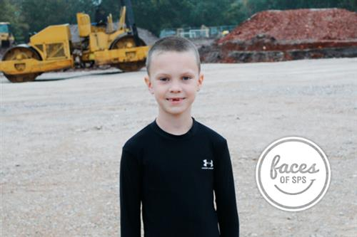 Faces of SPS: Meet Colin Carson, second-grader at Sunshine