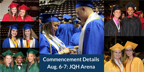 SPS Announces Details for Commencement on August 6-7