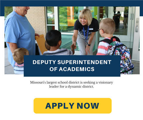 Missouri's largest school district is seeking a visionary leader for a dynamic district. Apply now.