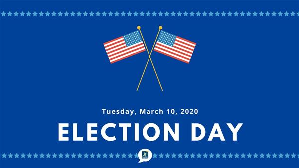 March 10 is Election Day