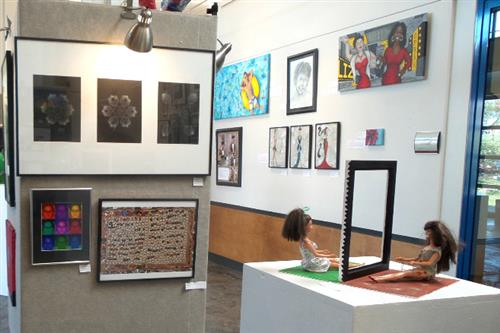 Art Exhibit showcases student artistic talent in local galleries