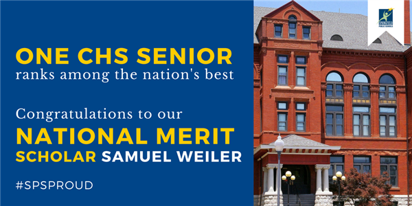 CHS senior named National Merit Scholar