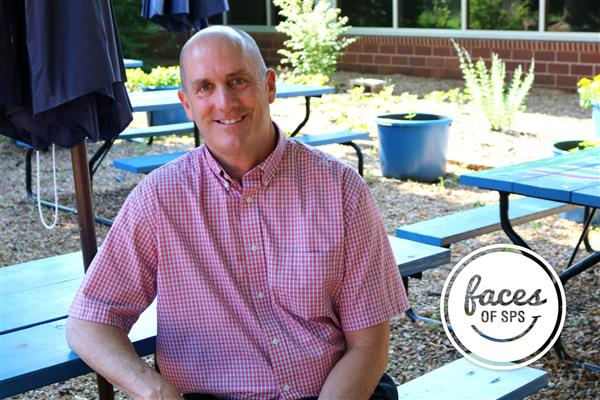 Faces of SPS:  Meet Gary Tew, principal at Holland Elementary
