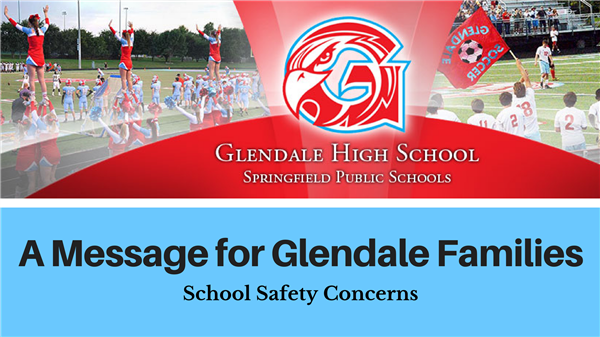 Incident reported at Glendale High School