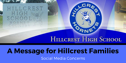 Social media threat referencing Hillcrest found not credible