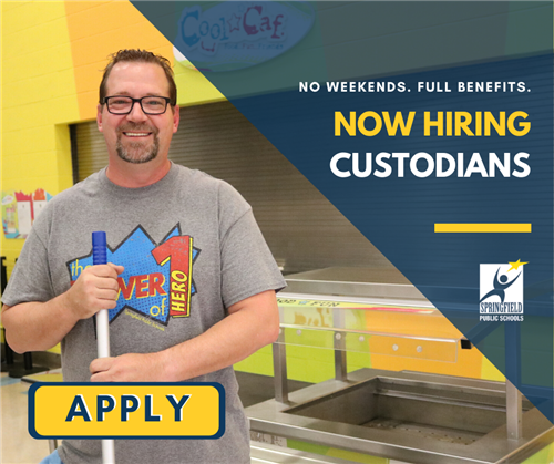 Now Hiring: Custodians