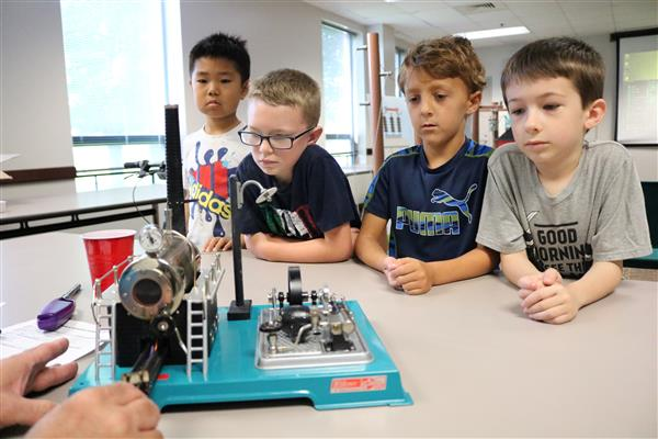 More than 1,000 students visit City Utilities this summer