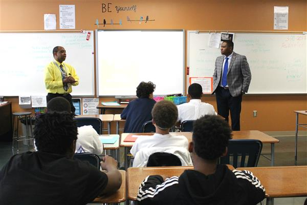 Empowerment Clubs bring African American mentors to classrooms across SPS