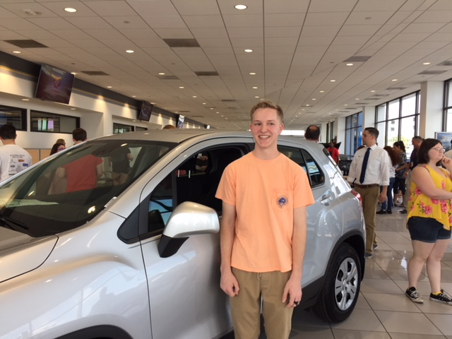 CHS 2018 Grad wins new car thanks to Reliable Chevrolet