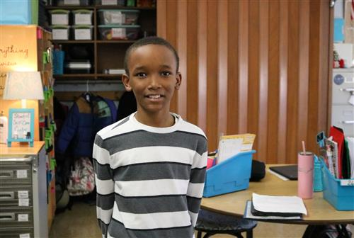 Disney fifth-grader receives national honor for outstanding leadership