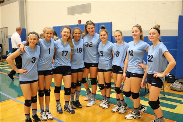 Middle school volleyball expansion serves more students in more games