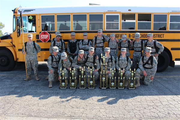 JROTC cadets tackle challenge of national competition