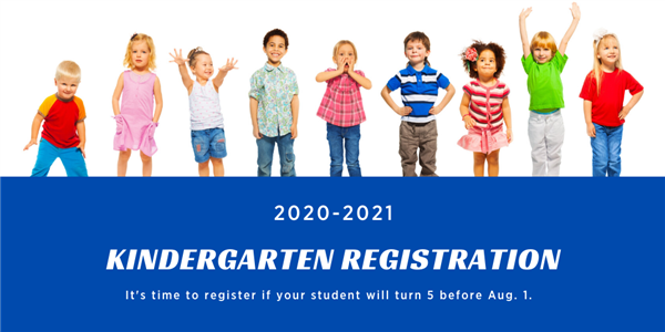 It is time to register for kindergarten
