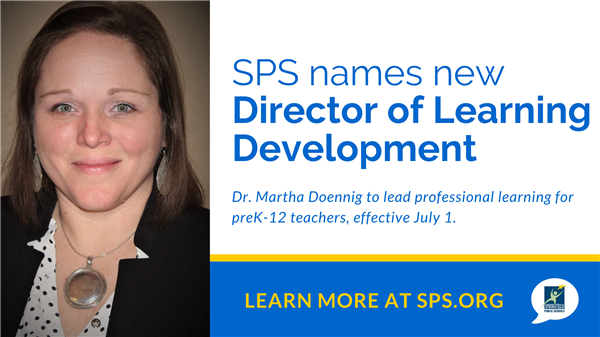 SPS announces new director of learning development
