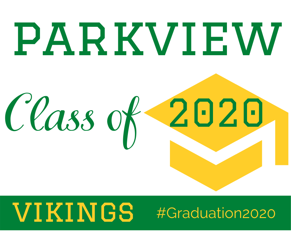 Parkview Class of 2020 graduates at noon, Aug. 6
