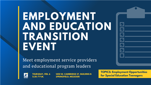 Employment After High School: A Transition Event for Special Education families