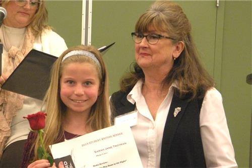 SPS students honored at Missouri Writers Hall of Fame