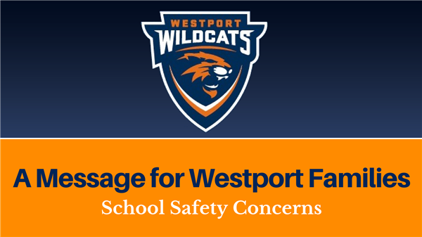 A Message for Westport Families