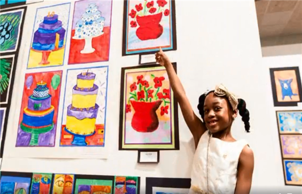 Art Museum all school art exhibition showcases student talent, learning
