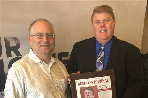 Kickapoo coordinator named Employee of the Year by local publication