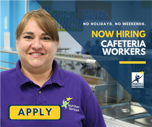 Nutrition Services now hiring