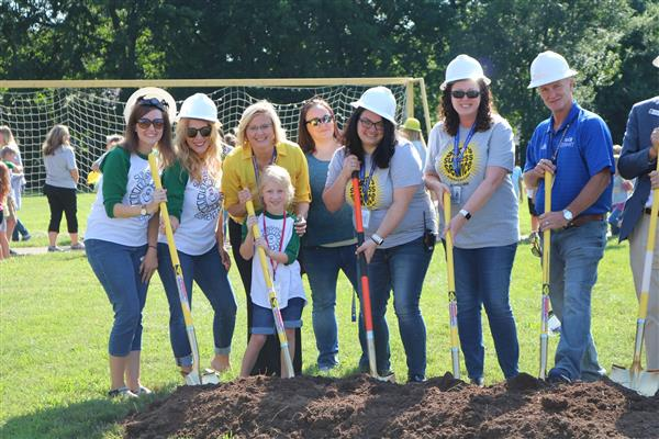Sunshine Elementary renovation & expansion underway with Groundbreaking Ceremony