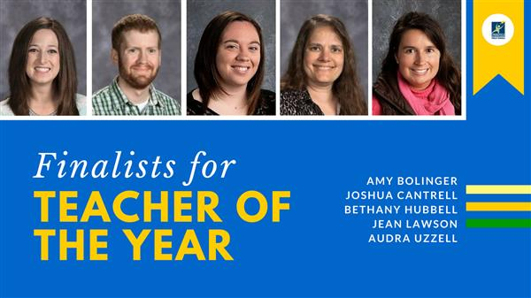 2018-2019 Teacher of the Year Finalists Named