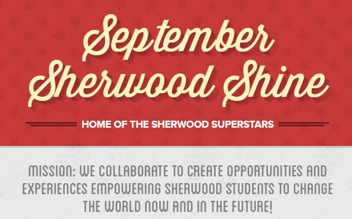 September Sherwood Shine Newsletter