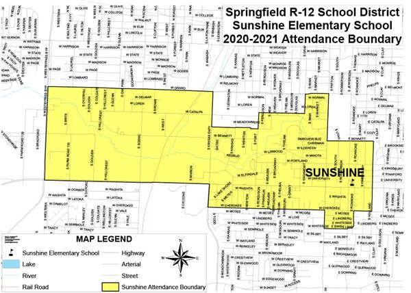 Sunshine boundary changes finalized for 2020-2021 school year
