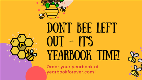 It's Yearbook Time! Order your yearbook at yearbookforever.com!