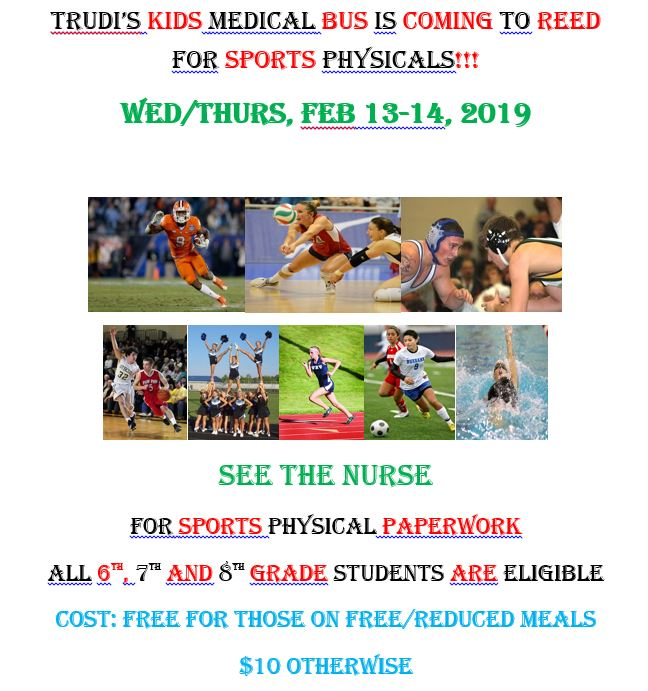 Trudie's Kids is Doing Sports physicals for free