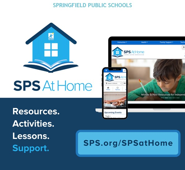 SPS At Home Resources Available