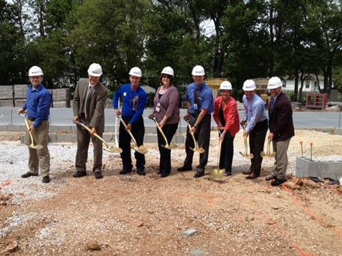 Groundbreaking on Westport K-8