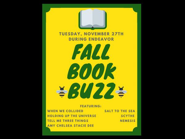 BOOK BUZZ Tuesday, November 27th